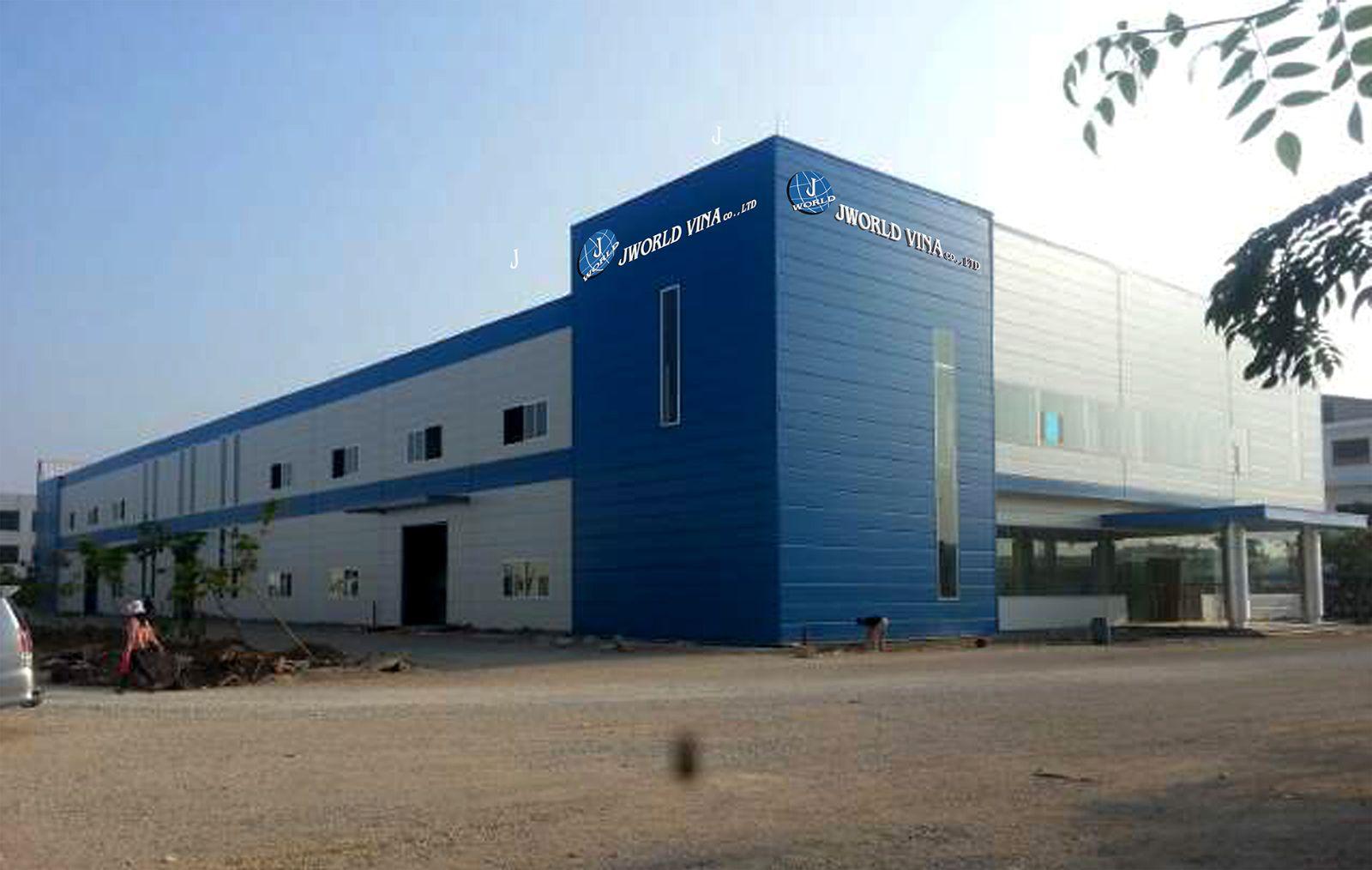 Installation of camera company JWORLD TECH - Que Vo Industrial Park Bac Ninh